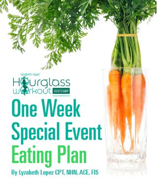 1 week special eating plan - Hourglass Workout ®